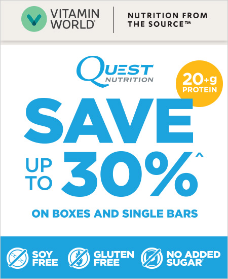 Vitamin World Coupon – Quest Bars