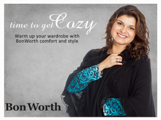 Get Cozy With Bon Worth