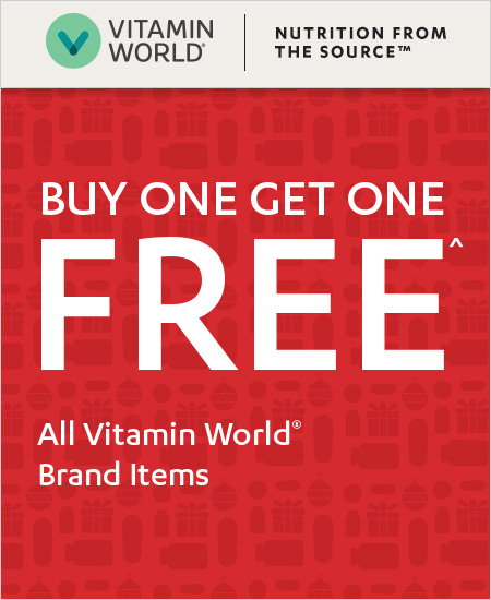 Vitamin World Coupon – BOGO All Brand Items