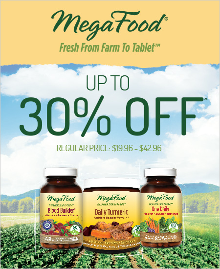 Vitamin World Coupon – Up To 30% Off Mega Food Products