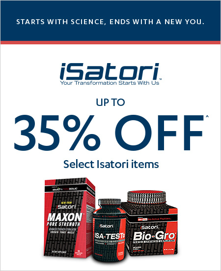 Vitamin World Coupon – 35% OFF Isatori Items