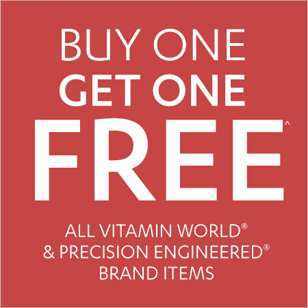 Vitamin World Coupon – All Vitamin World & Precision Engineered Brand Items