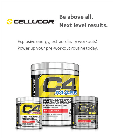 Cellucor – Explosive energy & extraordinary workouts, Buy One Get One 50% OFF