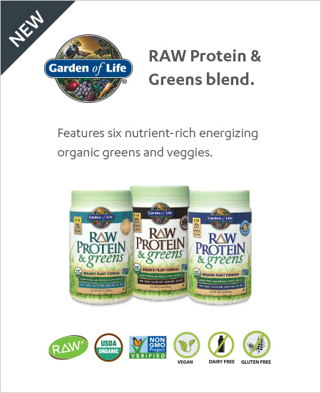 Garden of Life – RAW Protein & Greens, Buy One Get One 50% OFF
