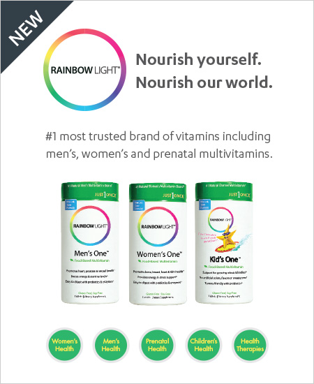 Vitamin World Coupon – Buy One Get One 50% Off Rainbow Light