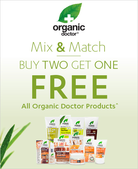 All Organic Doctor – Mix & Match, Buy Two Get One Free