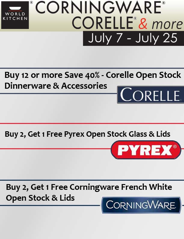 Big Brand Sale Promotions u2013 Corningware Corelle u0026 more Stores  sc 1 st  Power Square Mall & Big Brand Sale Promotions u2013 Corningware Corelle u0026 more Stores ...