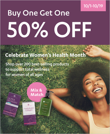 Women's Health & Beauty – Buy One Get One 50% OFF, Mix & Match