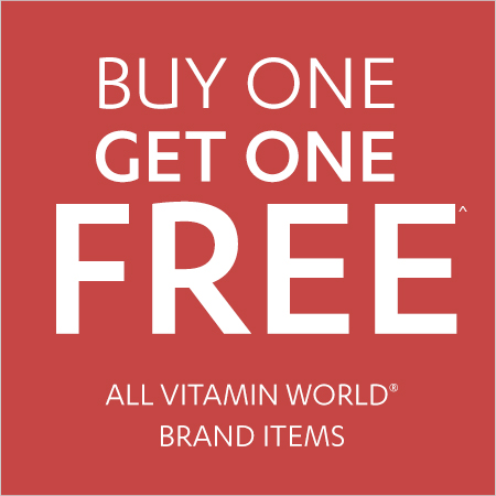 All Vitamin World – Buy One Get One FREE
