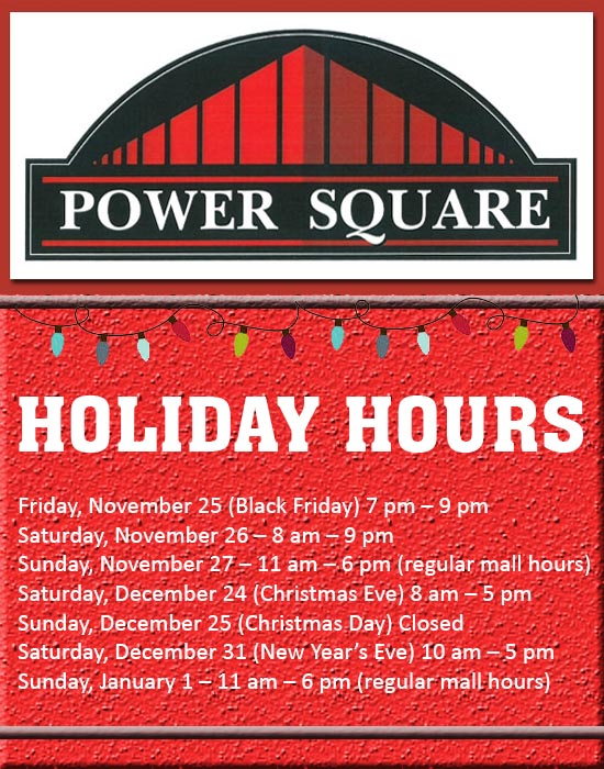 mall holiday hours - What Time Does The Mall Close On Christmas Eve