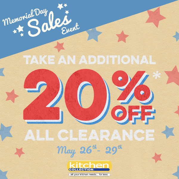 Kitchen – Memorial Day Sales Event
