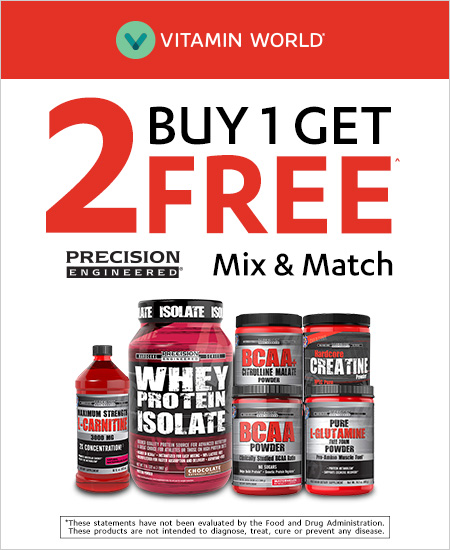 Vitamin World – Buy 1 Get 2 Free, Mix & Match