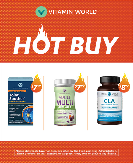 Vitamin World – Hot Buy
