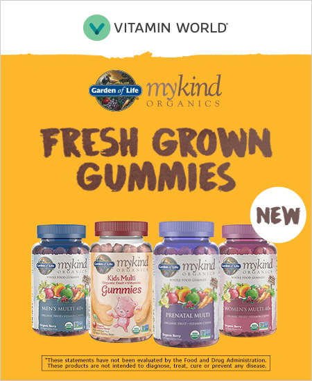 Vitamin World – Garden of Kind, Fresh Grown Gummies