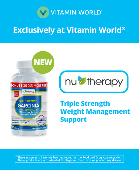Exclusively at Vitamin World