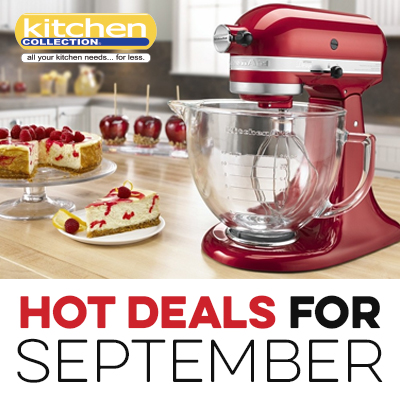 Kitchen – 2017 September Sales Events and Promotions