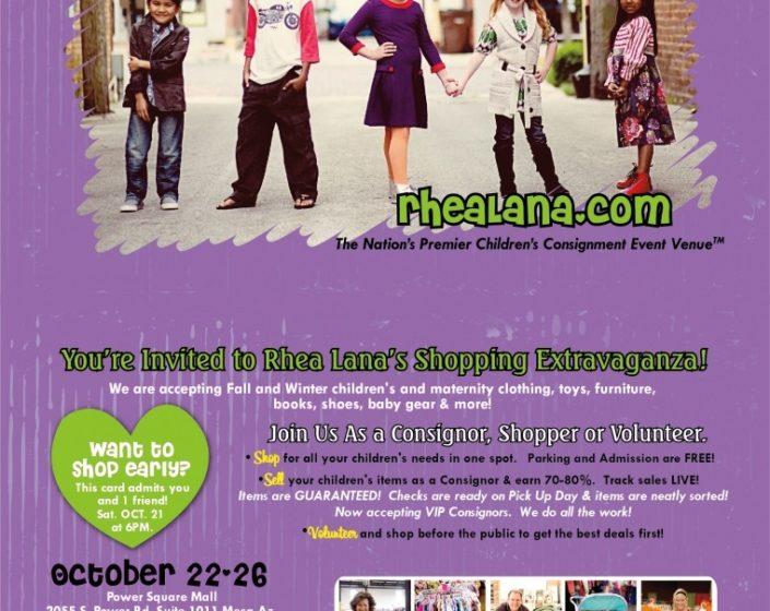 Rhea Lana's – A Children's Consignment Event in Mesa