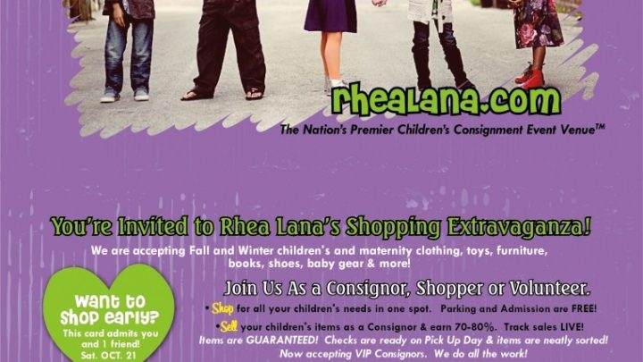 Rhea Lana's – A Children's Consignment Event in Mesa