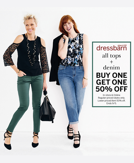 Dressbarn – Labor Day Promotion!