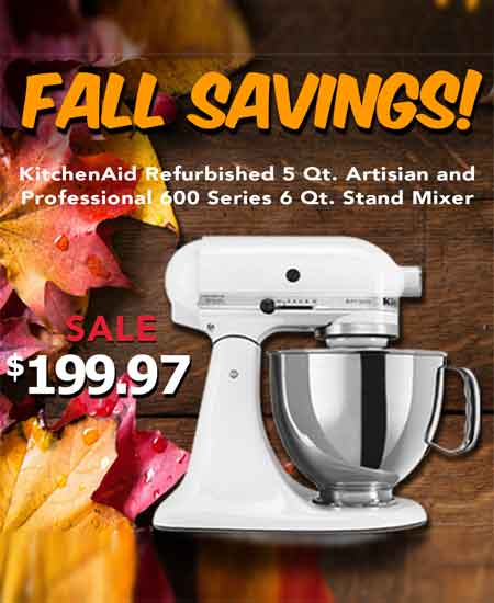 KitchenAid – Fall Savings!
