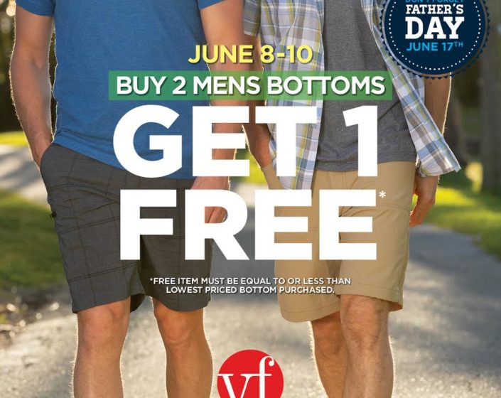 VF Outlet – June Men's Sale