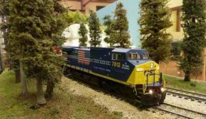 HO Scale Model Train Exhibit @ Saguaro Room (125