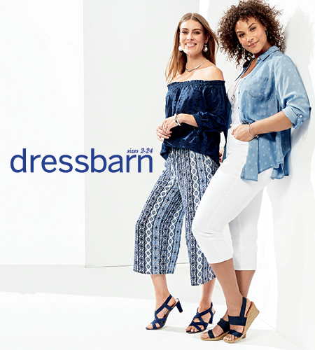 Dressbarn – The SEMI-ANNUAL SALE is Going on Now!