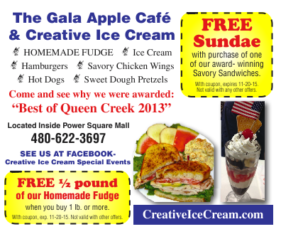 Creative Ice Cream Coupons – Free Sundae/Free Half Pound Fudge with purchase