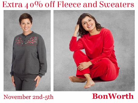 Bon Worth – 40% Off Fleece and Sweeters