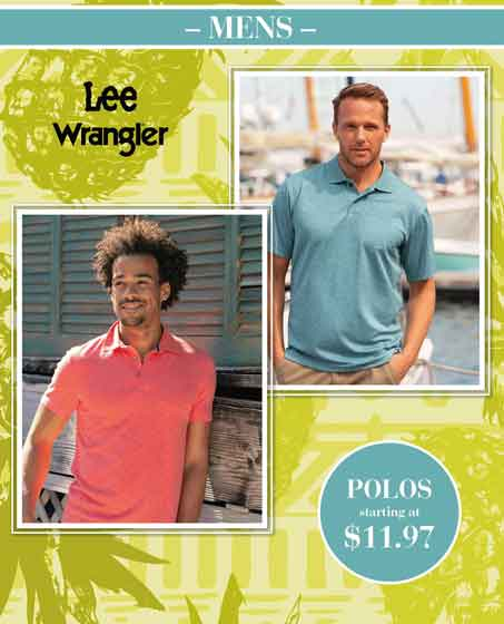 VF Outlet – Just in time for Father's Day!