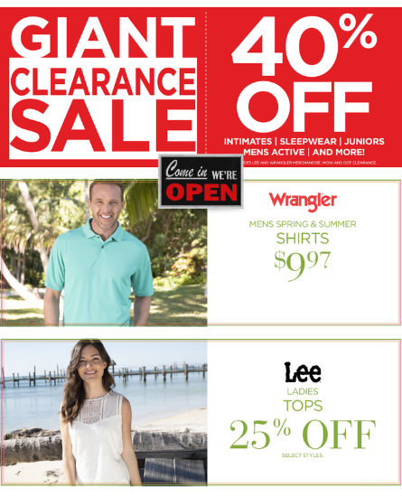 VF Outlet August Sales