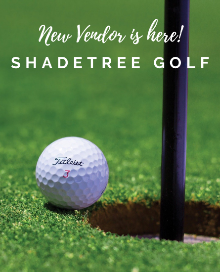 New Vendor Is Open: ShadeTree Golf