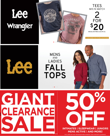 VF Outlet Clearance & Featured Products
